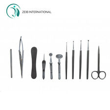 Surgical Instrument Eye Kit Set of 11 Pcs Veterinary Ophthalmic Kit Medical CE