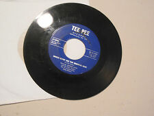 JOHNNY LOVE whose heart are you breaking now /  consolation TEE PEE RECORDS  45