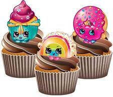 Shopkins Cakes Mix Cake Toppers Wafer Card Popular Decorations Kids Birthday Fun