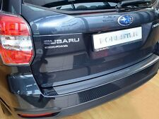 Stainless Steel Rear Bumper Protector Plate Cover for SUBARU FORESTER 2013-2016