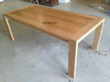 local made solid tasmanian oak hardwood dining table 2100w