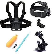 Sale Accessories Kits Head Chest Harness Mount f GoPro 3 3+ 4 sjcam Xiaomi Yi Mi
