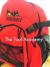 Teng Tools Mochila Logotipo Bordado Rojo Negro 360 X 200 X 490mm