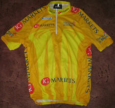 TOUR OF BRITAIN 2011 LEADERS VITESSE CYCLING JERSEY [S] UNUSED