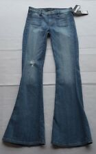 NWT Guess Blue Flare Women's Stretch Jeans Size 25 inseam: 34 inch.