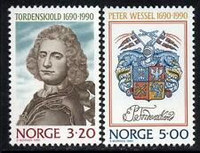 NORWAY MNH 1990 The 300th anniversary of the Birth of Peter Wessel