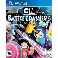 NEW! CARTOON NETWORK: BATTLE CRASHERS Sony Playstation 4 PS4 2016 Factory Sealed