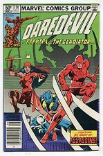 Daredevil #174  - FIGHTING AN ARMY OF ASSASSING! - (6.5) 1981