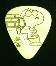 SNOOPY JOE COOL - Solid Brass Guitar Pick, Acoustic, Electric, Bass