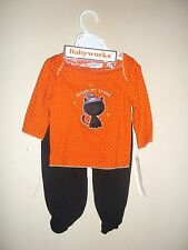 HALLOWEEN OUTFIT INFANT GIRLS 0-3 MO'S - BABYWORKS....