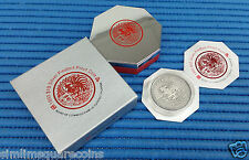 1993 Singapore 2 oz Lunar Year of the Rooster $10 Silver Piedfort Proof Coin