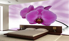 Orchid Aurora Wall Mural Photo Wallpaper GIANT DECOR Paper Poster Free Paste