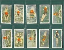 SWIMMING,  DIVING  &  LIFE - SAVING  -  SET  OF  50  CARDS