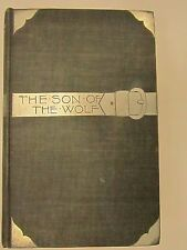 THE SON OF THE WOLF JACK LONDON 1ST FIRST EDITION SILVER BELT BUCKLE VG+ NICE