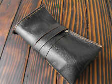 Leather watch roll, watch holder, travel leather rolling, travel pouch for watch