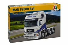 ITALERI 1:24 KIT TRUCK CAMION MAN F2000 6X4  DECALS PER 2 VERSIONI ART 3901