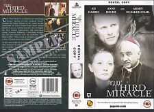 The Third Miracle, Ed Harris Video Promo Sample Sleeve/Cover #10395