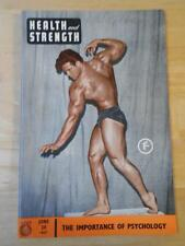 HEALTH AND STRENGTH bodybuilding muscle magazine/STEVE REEVES 6-57