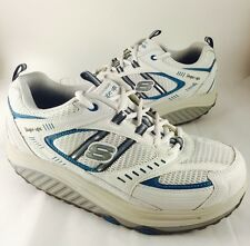 Sketchers Shape-Ups Women's Walking Shoes Sneakers 11817 Size 9 Teal White