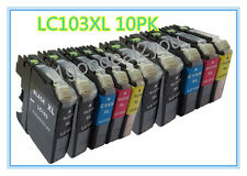 10 PK LC103XL New Chip HY Ink Cartridge For Brother DCP-J152W MFC-J475DW Printer