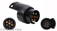 Electrics Converter 13 Pin Trailer Caravan Plug Adapter To 7 Pin Towbar Socket