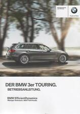 BMW   3er TOURING Betriebsanleitung 2013 Bedienungsanleitung F31 Handbuch BA 10