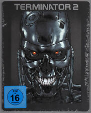 TERMINATOR 2 JUDGEMENT DAY BLU-RAY STEELBOOK NEU & OVP SCHWARZENEGGER SOLD OUT