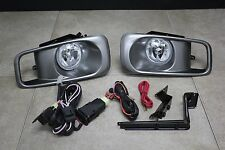 99 00 Honda Civic 2/3/4 Door EK EM JDM Clear Fog Light Kit + Harness+ Switch Si