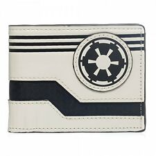 Star Wars Galactic Empire Logo Gear Icon Cosplay Bifold Wallet Bag Purse Handbag