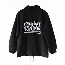 Naughty by Nature Coach Chaqueta Cubo 90s de colección hacia abajo con OPP (L) NUEVO