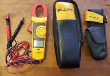 Fluke 334 Clamp Meter + Soft Carrying Case + Belt Carrying Case