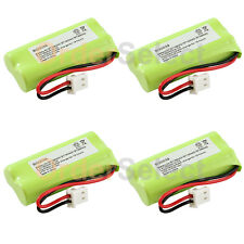 4 Home Phone Battery Pack 350mAh NiCd for AT&T BT166342 BT266342 TL32100 TL90070