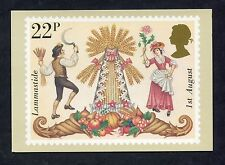 """A Post Office Picture Card. Issued 1981 """"Folklore/Lammastide"""""""