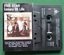 Five Star Luxury of Life inc Love Take Over & Say Goodbye + Cassette Tape TESTED