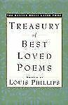 The Random House Large Print Treasury of Best-loved Poems 1990 Louis Phillips