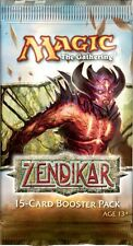MTG ZENDIKAR BOOSTER 1 PACK FREE SHIP SEE LIST BELOW
