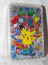 NEW IN BOX POKEMON PIKACHU ASH PLAYING CARDS DECK