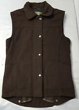 Jack Orton Ladies Brown Moleskin Gilet Size 10