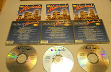 3 CD The Best of Musicals 52.Tracks Cats Starlight Express My Fair Lady... 100