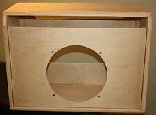 rawcabs super reverb 1x12 unfinished empty pine combo cabinet project