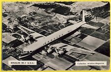cpsm AVION AIRPLANE UNITED STATES DOUGLAS DC 7 N° N301AA American Airlines