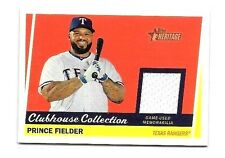 PRINCE FIELDER 2016 TOPPS HERITAGE CLUBHOUSE COLLECTION GAME USED JERSEY HI#