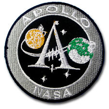 Apollo Space NASA Moon Landing Mission Patch Iron on Embroidered US Army