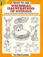 Ready-to-Use Whimsical Illustrations of Animals (Dover Clip-Art Series) MacComb