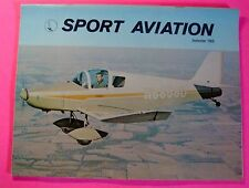 SPORT AVIATION MAGAZINE SEPT/1969..THE WACO STORY PART 2..THE BEDE BD-4
