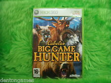 xbox 360 CABELA'S BIG GAME HUNTER Cabelas Hunting Game Microsoft PAL