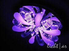 """Design Deckenlampe """"Lily"""" 6/ LED Farbwechsel Fernbedienung Leuchtmittel"""