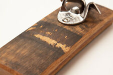 Wall mount/Fridge Mount Magnetic Bottle Opener/Catcher - Bourbon Barrel