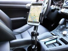 Car Cup Holder Extended Arm Cell Phone Mount for Samsung Galaxy Note 5 4 Edge
