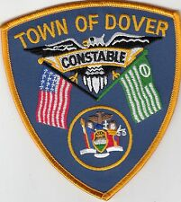 TOWN OF DOVER CONSTABLE NEW YORK POLICE PATCH NY